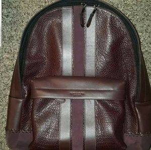 Coach Backpack Leather NWT 100% Authentic